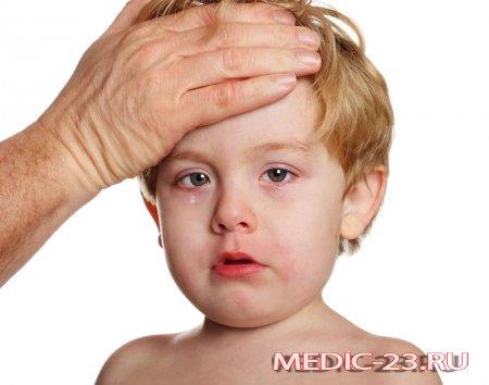 Если у ребенка высока я температура, что делать?