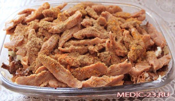 Соевое мясо