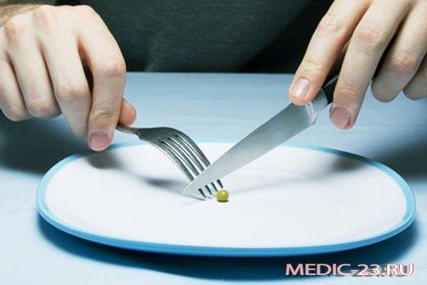 Голодание имеет противопоказания