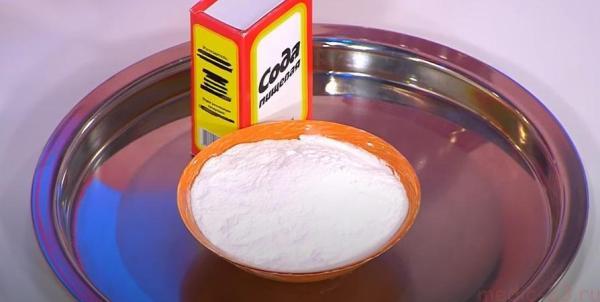 Сода против неравномерного искусственного загара