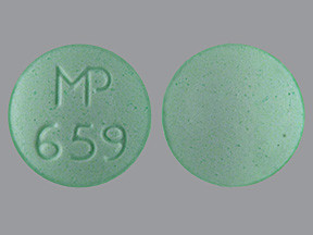 Clonidine Hcl 0.3 Mg Tablet - Green Round Tablet Mp 659 ...