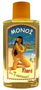 La bouteille de Monoï des années 70