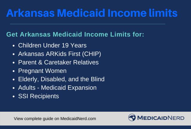 """Arkansas Medicaid Income Limits"""