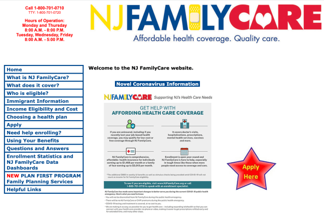 """""""How to Apply for New Jersey Medicaid Online"""""""
