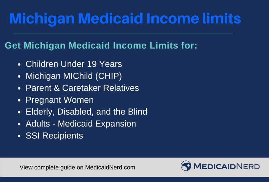 """Michigan Medicaid Income Limits"""
