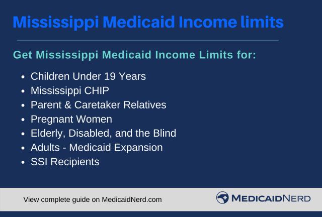 """Mississippi Medicaid Income Limits"""