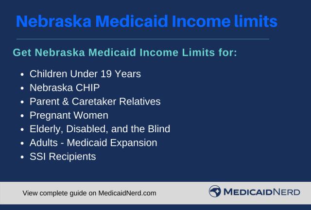 """Nebraska Medicaid Income Limits"""