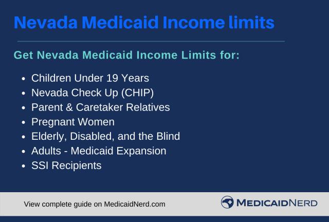 """Nevada Medicaid Income Limits"""