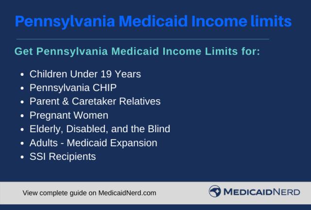"Pennsylvania Medicaid Income Limits"""