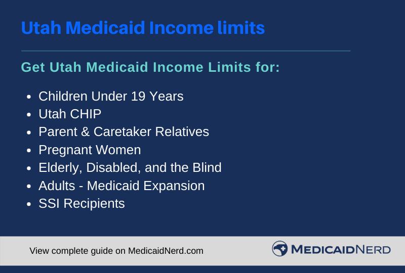 """Utah Medicaid Income Limits"""