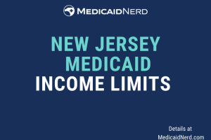 """What are the income limits for Medicaid in New Jersey"""