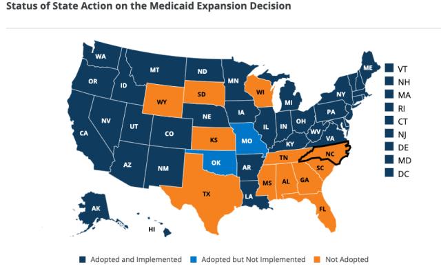 """Medicaid Expansion States"""