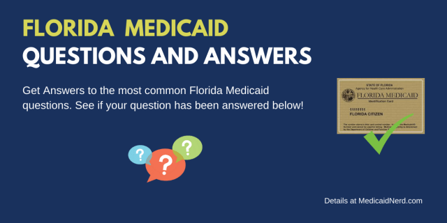 """Florida Medicaid FAQs"""