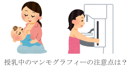 breast‐feed mammography