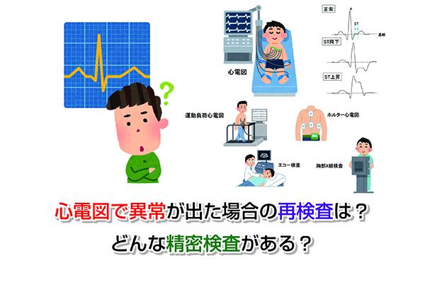 Abnormal electrocardiogram Eye-catching image