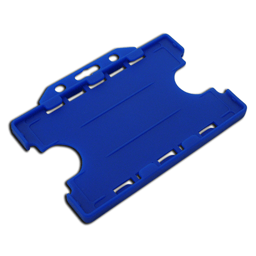 Light Blue Double-Sided Landscape Card Holder