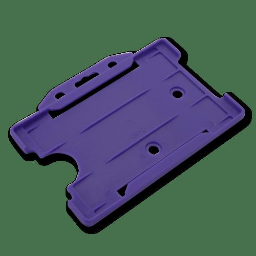 Purple Single-Sided Landscape Card Holder