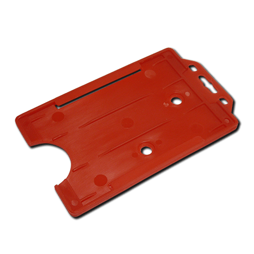 Red Single-Sided Portrait Card Holder