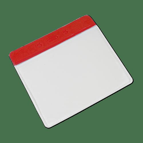 Landscape Vinyl Card Holder - Red