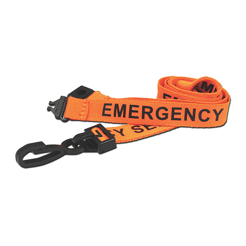 EMERGENCY SERVICES Lanyard