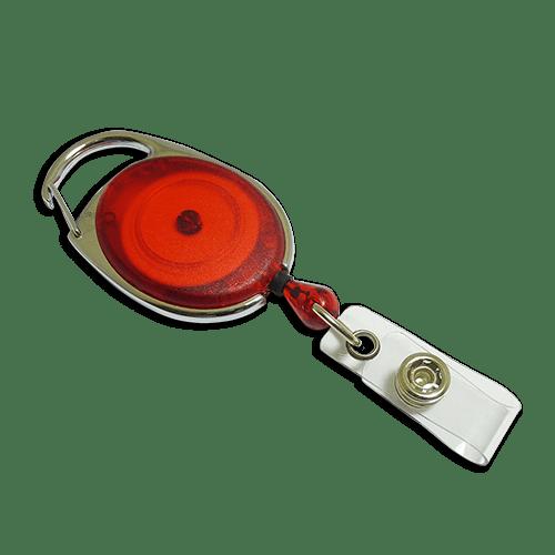 Red Premier YoYo Badge Reel