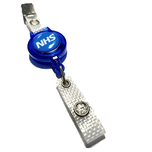 NHS YoYo Crocodile Clip Badge Reel