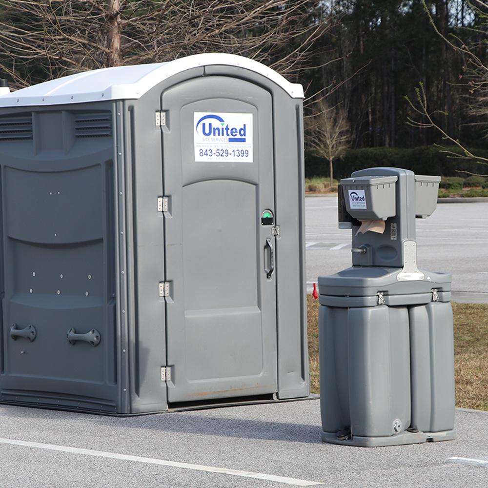 ADA-compliant Restroom and Handwashing Station