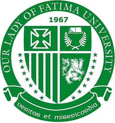Our_Lady_of_Fatima_University_logo
