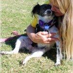 Hope loves her foster mom