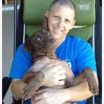 Julienne's a lap dog!