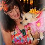 Blossom loves her foster mom!