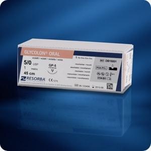 GLYCOLON® violet DS 18 USP 4/0 45 cm (24 stuks/doos)