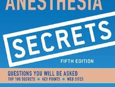 Duke's Anesthesia Secrets 5th Edition PDF