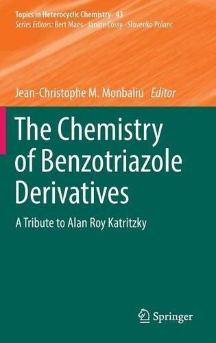 The Chemistry of Benzotriazole Derivativess PDF