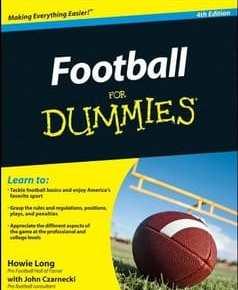 Football for Dummies 1st Edition PDF