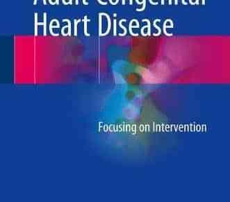Adult Congenital Heart Disease PDF
