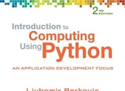 Introduction to Computing Using Python 2nd Edition PDF