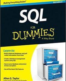 SQL For Dummies 8th Edition PDF