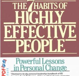 अत्यधिक प्रभावशाली मानिसहरूको 7 वटा आदतहरू pdf