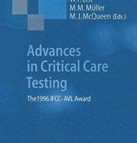 Advances in Critical Care Testing The 1996 IFCC-AVL Award