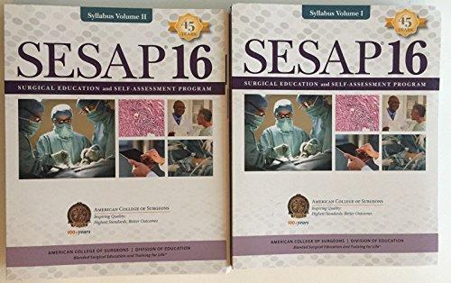 SESAP 16 Surgical Education and Self-assessment Program V I& II