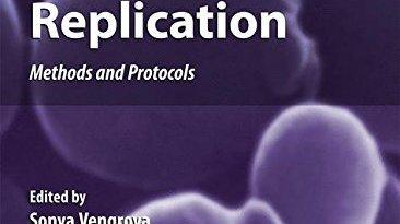 DNA Replication Methods And Protocols PDF