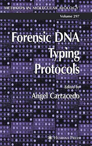 Forensic DNA Typing Protocols PDF