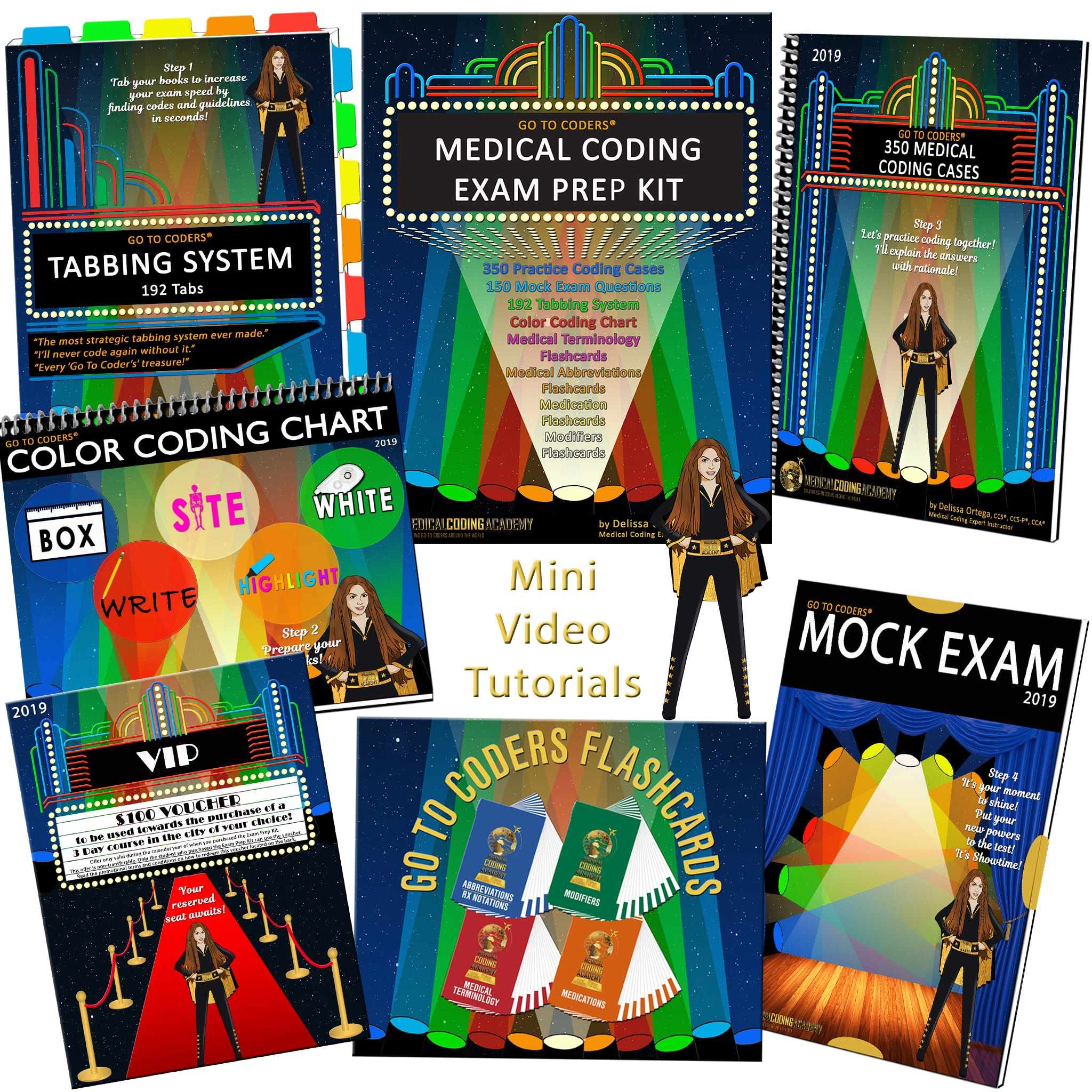 medical coding exam prep kit