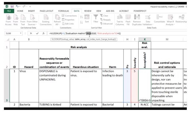 Education place has a good collections on pdf templates on graphics templates that can help you productively brainstorm and going through ideas. How To Use Ms Excel For Risk Analysis And Iso 14971
