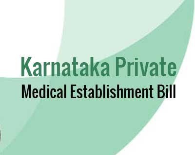 Image result for Karnataka Private Medical establishment (Amendment) bill
