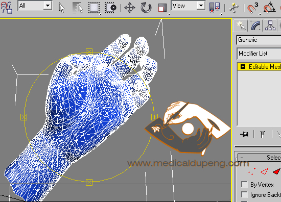 3D hand poser in 3ds Max