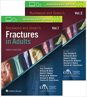 Rockwood and Green's Fractures in Adults