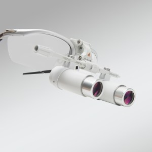 LUPAS BINOCULARES HRP 3.5 X 420MM CON CINTA CRANEAL HEINE – C-000.32.440