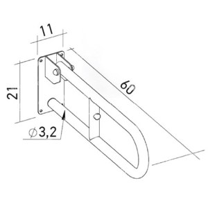 V92064 Λαβή τοίχου (2)